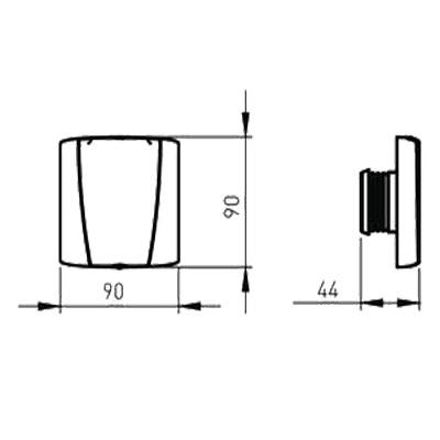 allaway-optima-saugdose-mit-kontakt-quadratisch-weiß-l90-b-90-400-x-400-px