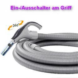 Saugschlauch - Ein/Ausschalter - 15 m