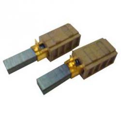 Kohlebürsten - mit Kontaktlasche - für Ametek Motoren 115684, 116136, 116117, 115950 - 11 x 6,3