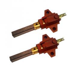 Kohlebürsten - mit Kontaktlasche - für EASY-CLEAN 400, EASY-CLEAN 550 (oberer Motor) - 11 x 6,3
