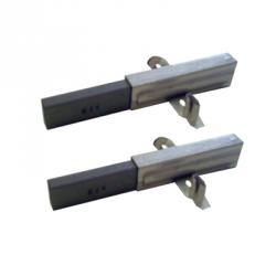 Kohlebürsten - mit Steckkontakt - für UNELVENT SAPHIR 180 - 11 x 6,3