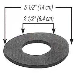 schaumstoffdichtung-einseitig-selbstklebend-Ø-140-64-x-6-150-x-150-px