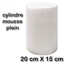 Schaumstofffilter - ohne Bohrung - Ø 145 / H 210