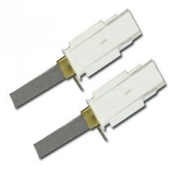 Kohlebürsten - mit Kontaktlasche - für Ametek Motor 119903 - 11 x 6,3