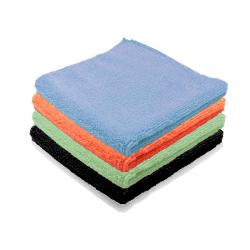 microfibre entretien courant 4 couleurs
